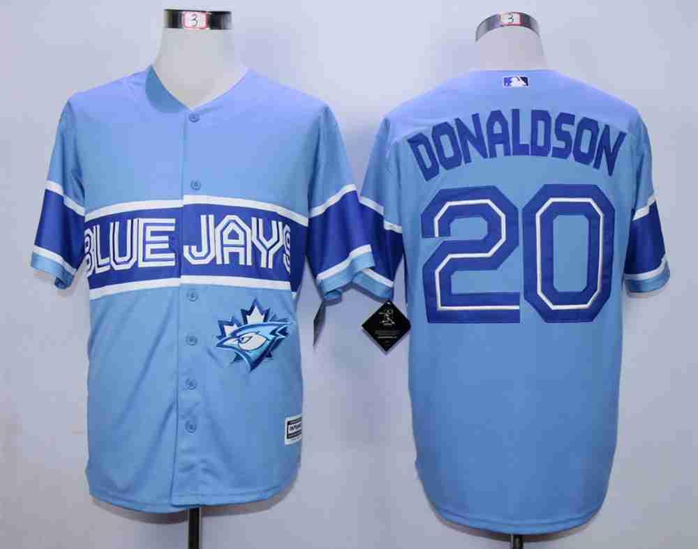 Los angeles lakers cheap nfl elite jerseys mlb coolbase jerseys nba - Men S Toronto Blue Jays 20 Josh Donaldson Light Blue New Cool Base Jersey