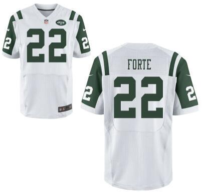 Men's New York Jets #22 Matt Forte Green Team Color NFL Nike Elite ...