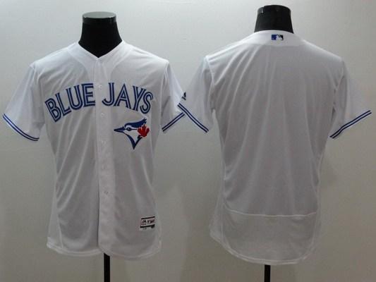 91666150b ... Mens Toronto Blue Jays Blank White Flexbase 2016 MLB Player Jersey 29  Mens Joe Carter ...