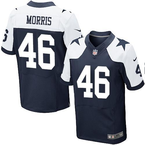 NFL Jerseys NFL - Men's Dallas Cowboys #93 Benson Mayowa White Road NFL Nike Elite ...