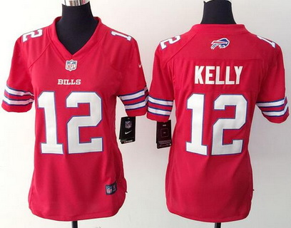 NFL Jersey's Men's Buffalo Bills Jim Kelly Nike White Retired Player Limited Jersey