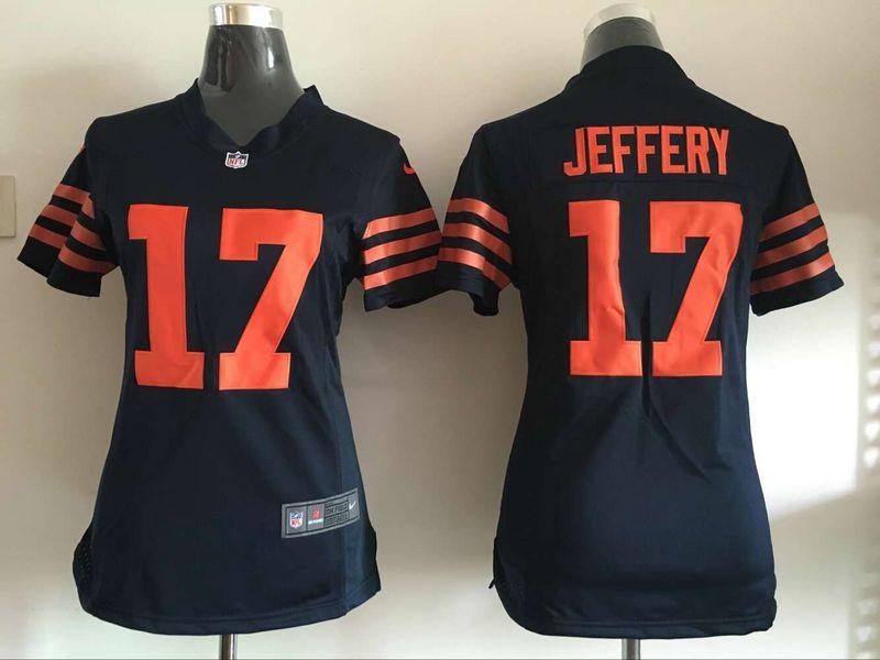 Jerseys NFL Outlet - Women's Chicago Bears #94 Leonard Floyd White Road NFL Nike Game ...