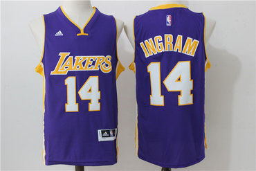 c5abdf4359a3 Only 20.50USD · Lamar Mens Los Angeles Lakers 14 Brandon Ingram Purple  Revolution 30 Swingman Basketball Jersey Lamar Odom ...