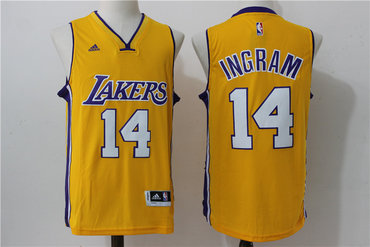 ... Los Angeles Lakers 14 White Revolution Yellow 30 Swingman Basketball  Jersey Los Angeles Lakers 6 Jordan Clarkson White 2015-2016 Christmas Day  Stitched ... b67a1cc6e