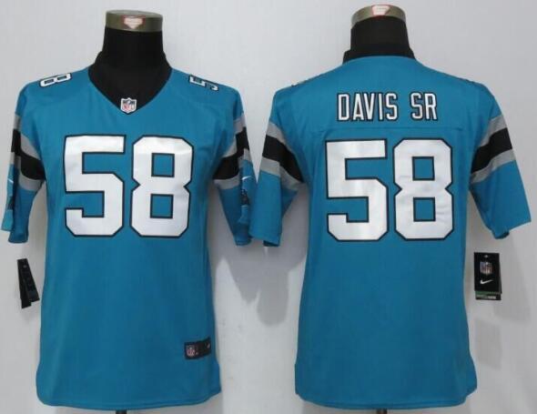 Carolina Panthers Thomas Davis ELITE Jerseys