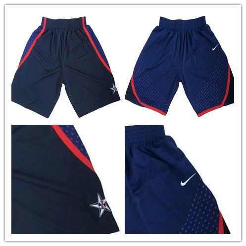 2016 Olympics Team USA Nike Navy Blue Swingman Basketball Men's Pants