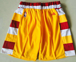 Men's Cleveland Cavaliers Gold Throwback Short