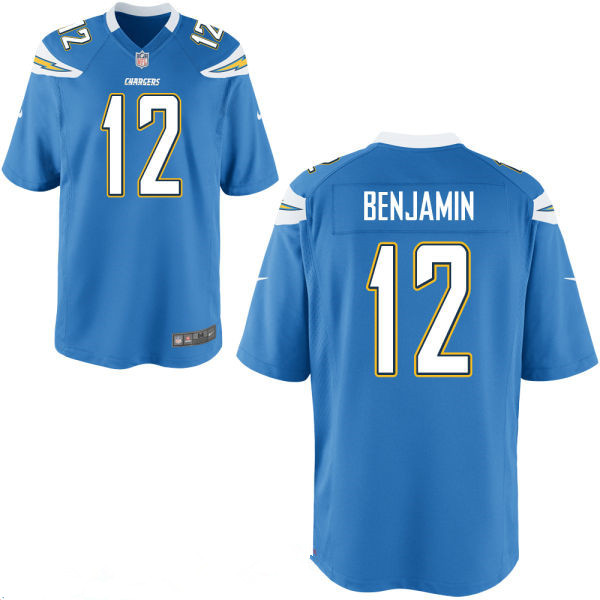 656650192 ... Mens San Diego Chargers 12 Travis Benjamin Light Blue Alternate  Stitched NFL Nike Elite Jersey Customized Elite Womens ...