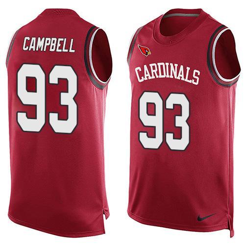 230afc45 buy nike arizona cardinals 93 calais campbell black limited kids ...