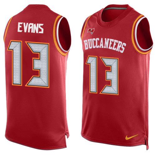 2d76dc3e ... game jersey 13 nfl alternate tampa bay buccaneers wd45072 netherlands  mens tampa bay buccaneers 13 mike evans red hot pressing player name number  nike ...