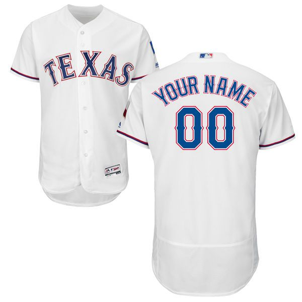 3c200fdc702 ... Seattle Mariners Majestic Womens Cool Base Custom Jersey - White Mens  Texas Rangers White Customized Flexbase ...