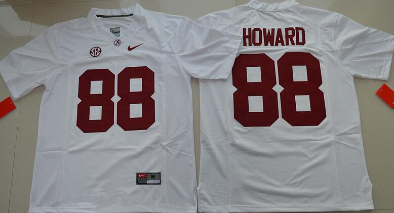 Men's Alabama Crimson Tide #88 O. J. Howard Red Limited Stitched College Football Nike NCAA Jersey