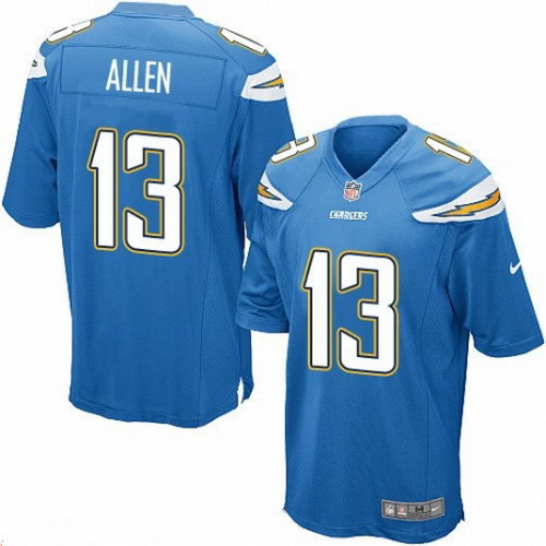 ... Mens San Diego Chargers 13 Keenan Allen Light Blue Alternate Stitched  NFL Nike Game Jersey ... 4a6adcfbc