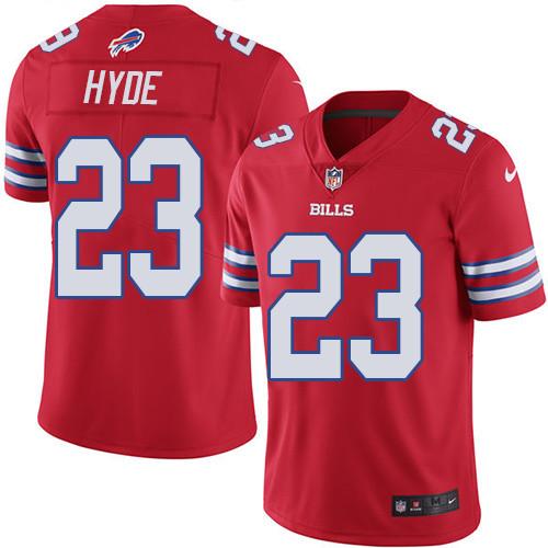 Nike NFL Buffalo Bills #23 Micah Hyde Limited Vapor UntouchableRed Men's Jersey