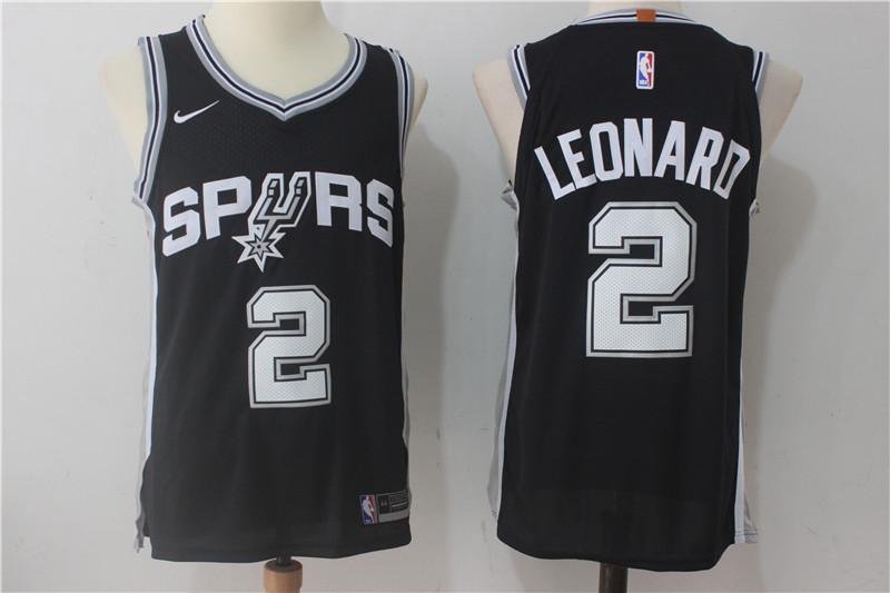 Men's San Antonio Spurs #20 Manu Ginobili Black Nike Jersey on ...