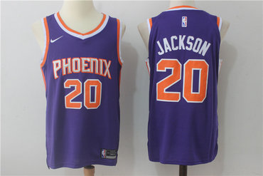 Men s Phoenix Suns  20 Josh Jackson New Purple 2017-2018 Nike Swingman  Stitched NBA 5bba414b4