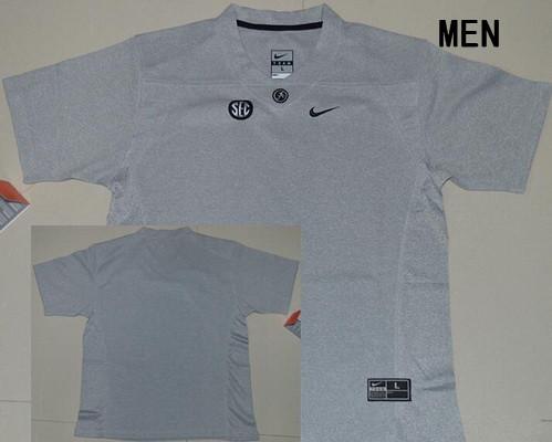 Men's Alabama Crimson Tide Custom College Football Nike Limited Jersey - Heather Gridiron Gray II