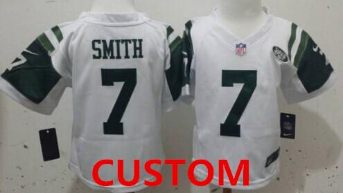 Custom Nike New York  White Toddlers Jersey