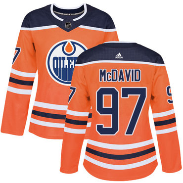 daeab2cc9 ... amazon adidas edmonton oilers 97 connor mcdavid orange home authentic  womens stitched nhl jersey 3d1ff e1801