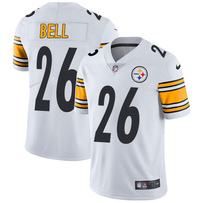 ID90298 Youth Nike Steelers #26 Le\'Veon Bell White Stitched NFL Vapor Untouchable Limited Jersey