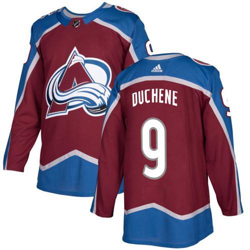 Adidas Colorado Avalanche #9 Matt Duchene Burgundy Home Authentic Stitched NHL Jersey