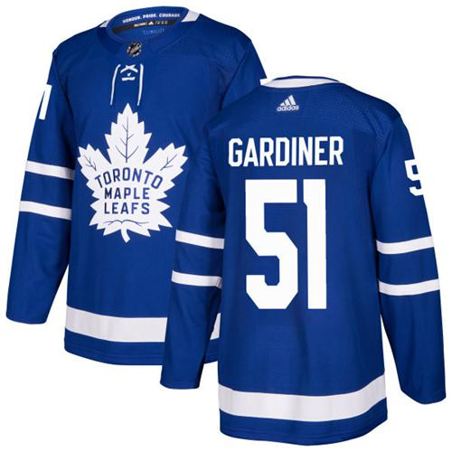 4aef60bdc2e Adidas Toronto Maple Leafs #51 Jake Gardiner Blue Home Authentic Stitched  NHL Jersey