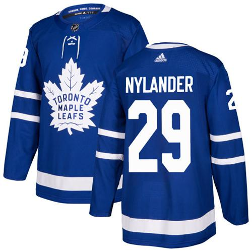 Adidas Toronto Maple Leafs  29 William Nylander Blue Home Authentic  Stitched NHL Jersey 8911ae8a7