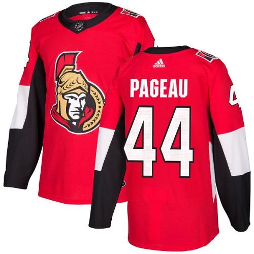 Adidas Senators #44 Jean-Gabriel Pageau Red Home Authentic Stitched NHL Jersey