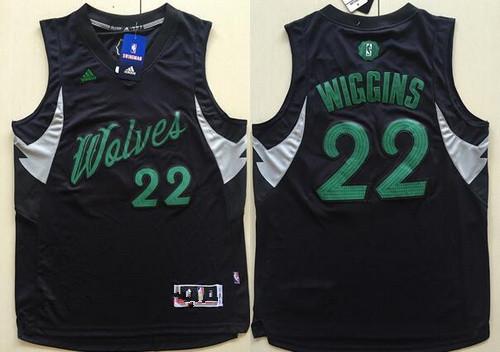 Men's Minnesota Timberwolves #32 Karl-Anthony Towns adidas Black ...