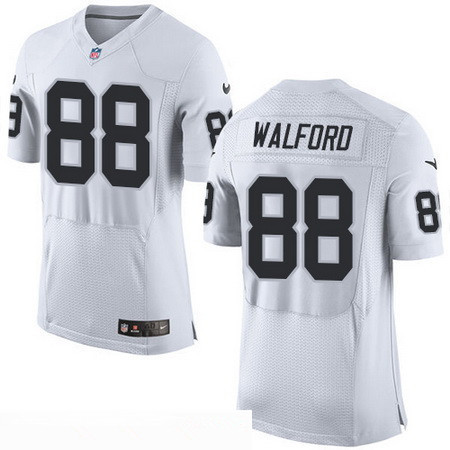 limited vapor untouchable white mens nfl road mens oakland raiders 88 clive walford new white road s