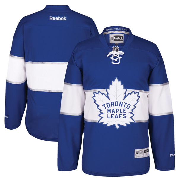 Men\u0027s Toronto Maple Leafs Custom Blue 2017 Centennial Classic Stitched  Reebok Hockey Jersey