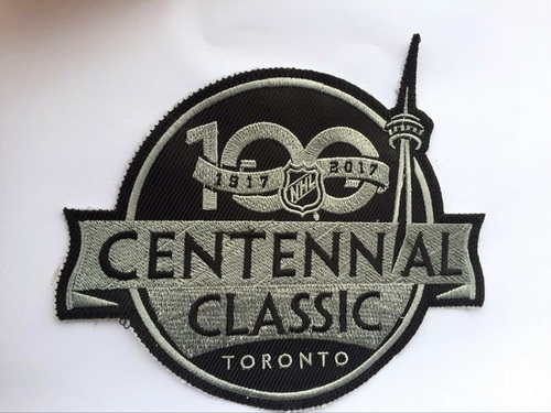 2017 NHL Centennial Classic 100TH Anniversary Patch