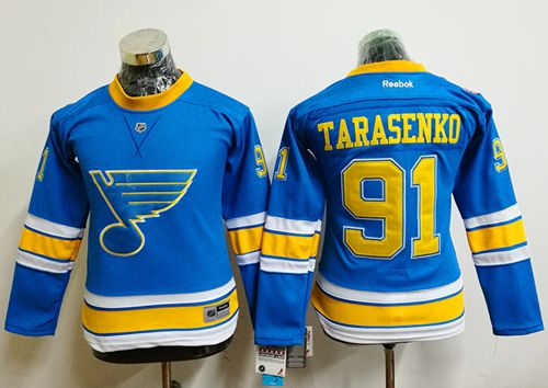 Blues #91 Vladimir Tarasenko Light Blue 2017 Winter Classic Women's Stitched NHL Jersey