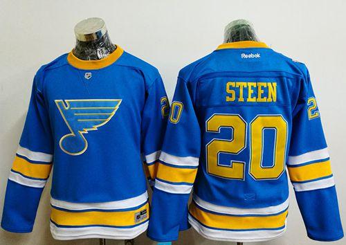 Blues #20 Alexander Steen Light Blue 2017 Winter Classic Women's Stitched NHL Jersey