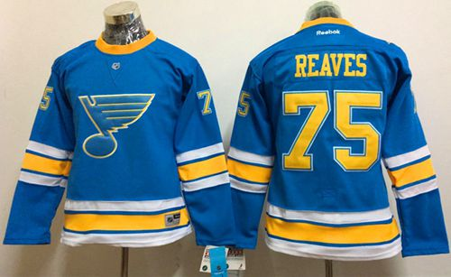 Blues #75 Ryan Reaves Light Blue 2017 Winter Classic Women's Stitched NHL Jersey