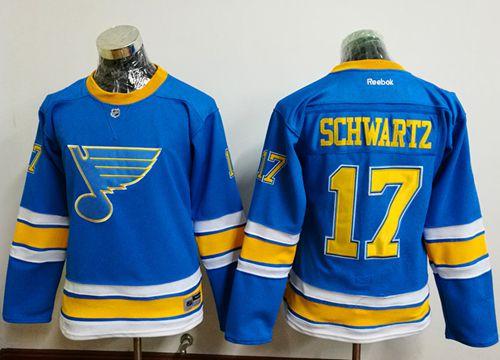 Blues #17 Jaden Schwartz Light Blue 2017 Winter Classic Women's Stitched NHL Jersey