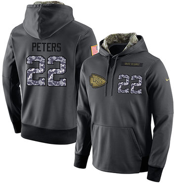 d29bc3fc3 ... NFL Mens Nike Kansas City Chiefs 22 Marcus Peters Stitched Black  Anthracite Salute to Service ...