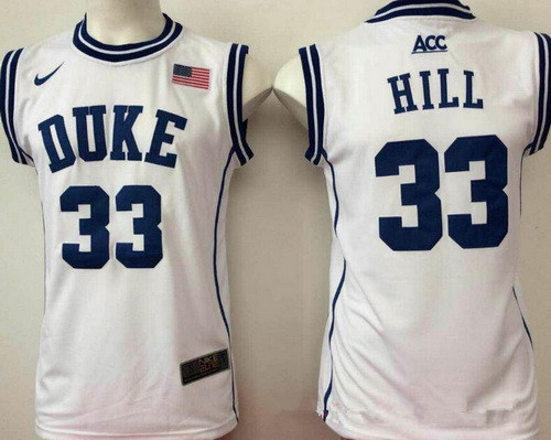 06ab4adc1361 ... 4 J.J. Redick Blue Basketball Stitched NCAA Jersey Mens Duke Blue Devils  33 Thomas Hill White Round Collar College Basketball Stitched Nike Swingman  ...