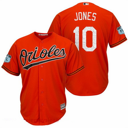 2c92700e65f ... white home Mens Baltimore Orioles 10 Adam Jones Orange 2017 Spring  Training Stitched MLB Majestic Cool Base Cheap Baltimore Orioles Jersey 8 Cal  Ripken ...