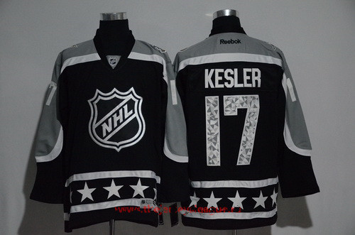 Men's Pacific Division Anaheim Ducks #17 Ryan Kesler Reebok Black 2017 NHL All-Star Stitched Ice Hockey Jersey