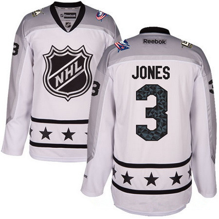964d4ef31 Men s Metropolitan Division Columbus Blue Jackets  3 Seth Jones Reebok  White 2017 NHL All-Star Stitched Ice Hockey Jersey