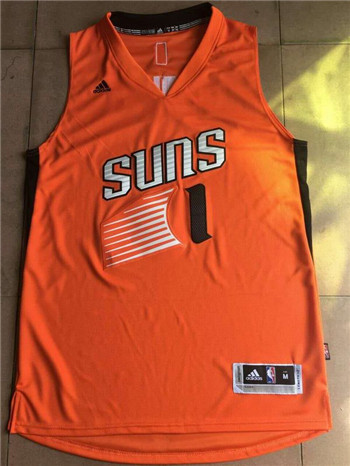 Men's Phoenix Suns adidas Booker Replica Jersey - Orange