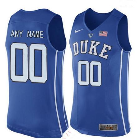 Youth Duke Blue Devils Custom Nike Performance Elite College Basketball Jersey - Royal Blue