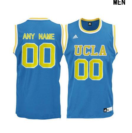 youth ucla bruins custom adidas college basketball jersey light blue