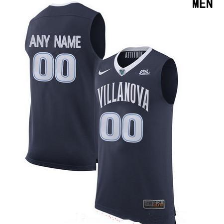 Youth Villanova Wildcats Custom Nike College Basketball Jersey - Navy Blue