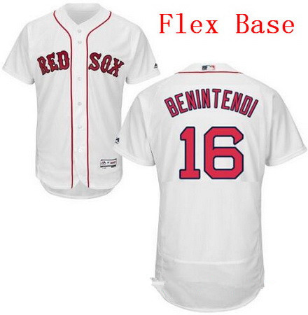 Men S Boston Red Sox 16 Andrew Benintendi White Home