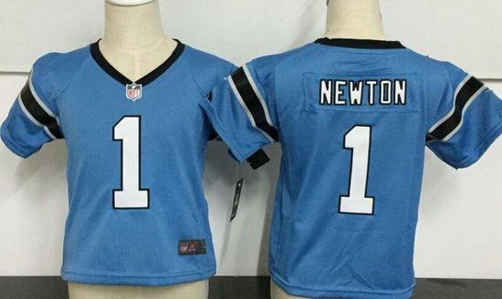 Toddler Carolina Panthers #59 Luke Kuechly Light Blue Alternate Stitched NFL Nike Game Jersey