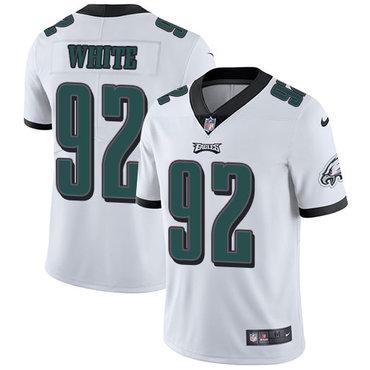 f3bbb845587 Nike Philadelphia Eagles #65 Lane Johnson White Game Womens Jersey ...