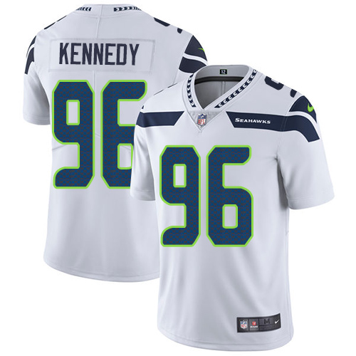 Nike Seattle Seahawks  96 Cortez Kennedy White Men s Stitched NFL Vapor  Untouchable Limited Jersey bd034528a
