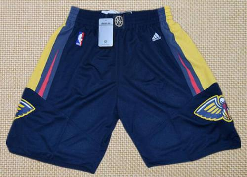 Men's New Orleans Pelicans Navy Blue Basketball Shorts